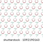 background with contour of ripe ... | Shutterstock .eps vector #1092190163
