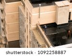 the roof of the building and...   Shutterstock . vector #1092258887