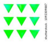 vector gradient reverse... | Shutterstock .eps vector #1092309887
