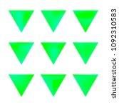 vector gradient reverse... | Shutterstock .eps vector #1092310583