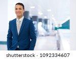 portrait of an handsome...   Shutterstock . vector #1092334607