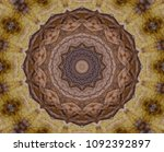 The Kaleidoscope Of Dried Brow...