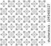 seamless abstract black texture ... | Shutterstock . vector #1092400127