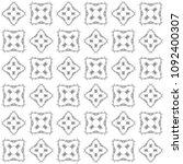 seamless abstract black texture ... | Shutterstock . vector #1092400307