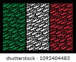 italy state flag flat... | Shutterstock .eps vector #1092404483