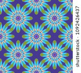 new color seamless pattern with ... | Shutterstock .eps vector #1092426437