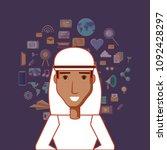 social media design | Shutterstock .eps vector #1092428297