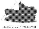 abstract kaliningrad region map....   Shutterstock .eps vector #1092447953