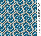 abstract color seamless pattern ... | Shutterstock . vector #1092451343