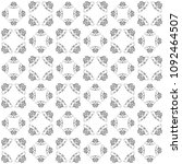 seamless abstract black texture ... | Shutterstock . vector #1092464507