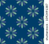 new color seamless pattern with ... | Shutterstock . vector #1092491387