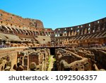 rome  italy   july 08  2017  ... | Shutterstock . vector #1092506357
