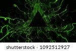 3d render abstract background.... | Shutterstock . vector #1092512927