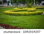 landscape design near the house | Shutterstock . vector #1092519257