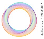 design elements. ring circle...   Shutterstock .eps vector #1092527807