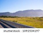 seaside city pacific ocean... | Shutterstock . vector #1092534197
