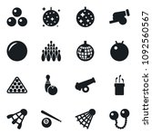 set of simple vector isolated... | Shutterstock .eps vector #1092560567