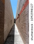 Small photo of Narrow alley between buildings In downtown Burbank, CA