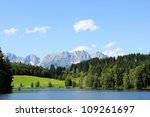 Schwarzsee, Kitzb�¼hel, Austria - stock photo