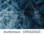 digital marketing growth and...   Shutterstock . vector #1092624323