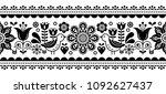 scandinavian seamless vector...   Shutterstock .eps vector #1092627437