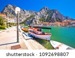cetina river mouth intown of... | Shutterstock . vector #1092698807