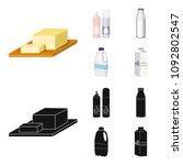 milk  calcium  product  food ... | Shutterstock .eps vector #1092802547