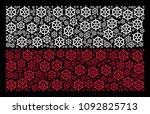 poland national flag... | Shutterstock .eps vector #1092825713