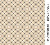 retro geometric pattern in... | Shutterstock . vector #1092877037