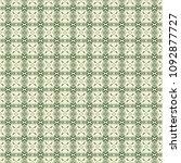 green geometric pattern in... | Shutterstock . vector #1092877727