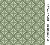 green geometric pattern in... | Shutterstock . vector #1092879197