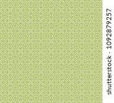 green geometric pattern in... | Shutterstock . vector #1092879257