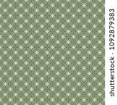 green geometric pattern in... | Shutterstock . vector #1092879383