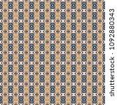 retro geometric pattern in... | Shutterstock . vector #1092880343