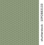 green geometric pattern in... | Shutterstock . vector #1092883133