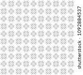 seamless abstract black texture ... | Shutterstock . vector #1092884537