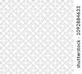seamless abstract black texture ... | Shutterstock . vector #1092884633