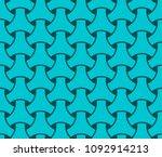 japanese seamless wicker... | Shutterstock .eps vector #1092914213