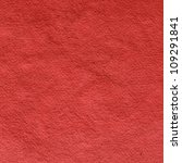 handmade red paper background - stock photo