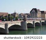 basel  switzerland on july 2017 ... | Shutterstock . vector #1092922223
