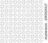 seamless abstract black texture ... | Shutterstock . vector #1092924317