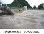 flah flood - stock photo