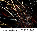 color magic line. abstract... | Shutterstock . vector #1092931763