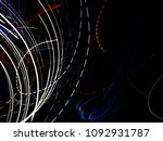 color magic line. abstract... | Shutterstock . vector #1092931787
