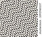 vector seamless zigzag line... | Shutterstock .eps vector #1092960137