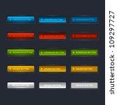 web buttons pack | Shutterstock .eps vector #109297727