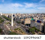 aerial view of buenos aires... | Shutterstock . vector #1092996467