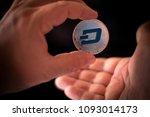 dash open source digital cash...   Shutterstock . vector #1093014173