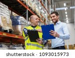 wholesale  logistic business...   Shutterstock . vector #1093015973