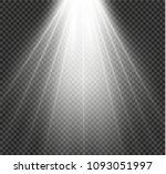 white glowing light burst... | Shutterstock .eps vector #1093051997